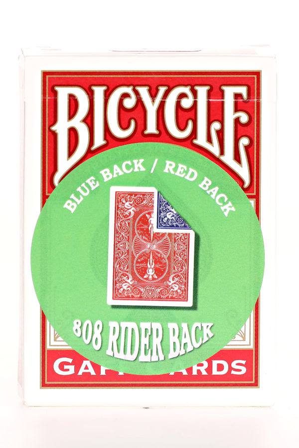 808 Bicycle Double Back Blue:red