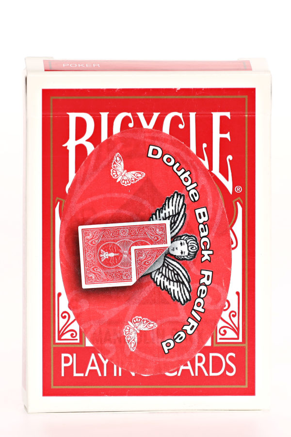 809 Bicycle Mandolin Double Back Red:red